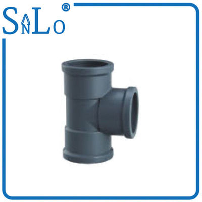 China Sound Insulation	PVC U Pipe Fittings , 50mm 63mm Lightweight Pvc Union Joint supplier
