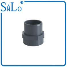 China Blue Small UPVC Pressure Pipe Fittings One Inch On Plastic Pipe  SPIGOT X FIPT supplier