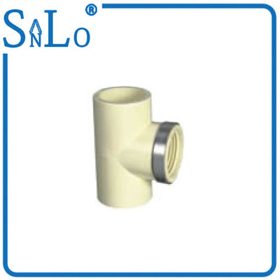 China Equal Female Thread PVC Pipe Din Standard With Steel Ring Highway Drainage Supply supplier