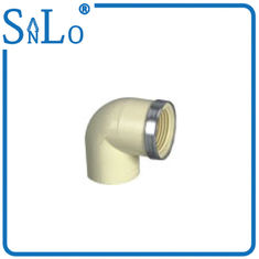 China Underground Ventilation Pipe Female Threaded Elbow In Construction Engineering supplier