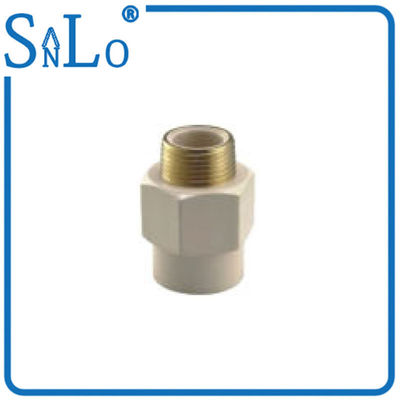 China Good Aging Resistance Pvc Pipe Din Standard , Water Tube Fittings With Brass Insert supplier