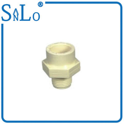 China Corrosion Resistance PVC Pipe Din Standard , Threaded Plastic Pipe Fittings supplier