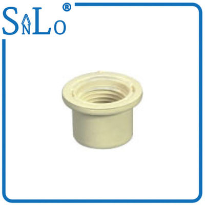 China ThreadPVC Pipe Din Standard , Plumbing Reducer Coupling Convenient Reliable Installation supplier