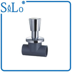 China Black Schedule 80 CPVC Pipe Fittings , Small Thermal Conductivity Cpvc Stop Valve supplier