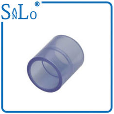 China Coupling Clear Drain Threaded Pvc Pipe Fittings For Garden Irrigation Plastic supplier