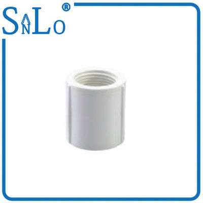 China Irrigation Female Pvc Screwed Pipe Fittings For Agricultural White Or Other Color supplier
