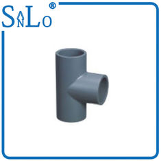 "China Stralght Sch 40 Pvc Pipe Fittings , 1/2 "" To 6 "" Easy Moving Pvc Sch 40 Tee supplier"