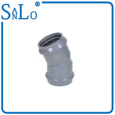 China Two Faucet 22.5 Degree Pipe Elbow For Drinking Water / Pharmaceutical Industries supplier