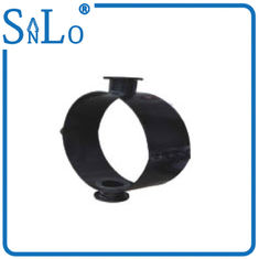China Small Black  Saddle Upvc Plastic Soil Pipe Fittings Plastic With Flanged End Steel Iso9000 supplier