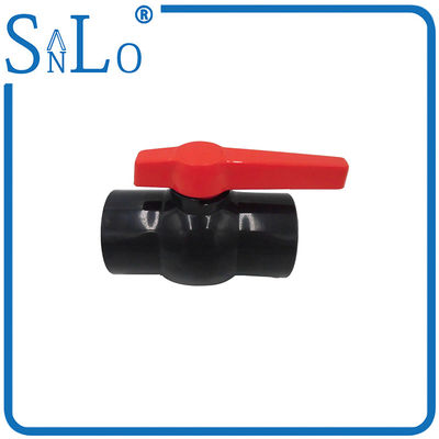 China Plumbing Drain Pipe Water Supply Fittings , Pvc Ball Valve Handle Replacement supplier