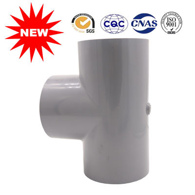 China Customized 90 Elbow PVC Tee Pipe Fittings For Water , Pvc Pipe Tee Fittings supplier