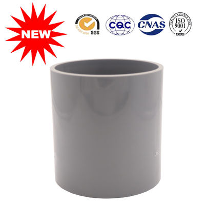 China Cold Galvanized PVC Water Pipe Fittings UPVC Coupling Fitting 110-315 Size supplier