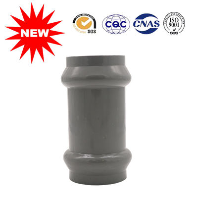 China Two Faucet Coupling Plastic Water Pipe Fittings UPVC PPV And PVC Material supplier