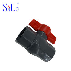 China Great Pvc Pipe Ball Valve UPVC Pressure Pipe Fittings With Black Color supplier