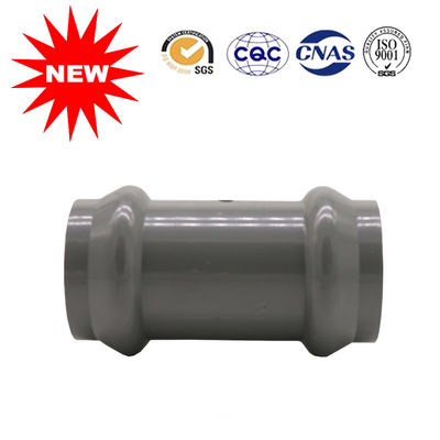 China Two Faucet PVC Coupling Pipe Fittings ,Pressure Pipe Fittings For Supply System supplier
