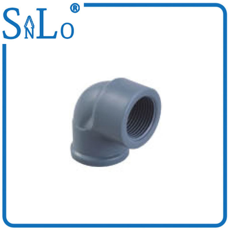 China Deep Upvc Pressure Pipe Fittings  Female Plastic Pipe Elbow Easy Installation supplier  sc 1 st  UPVC Pipe Fittings & Deep Upvc Pressure Pipe Fittings  Female Plastic Pipe Elbow Easy ...