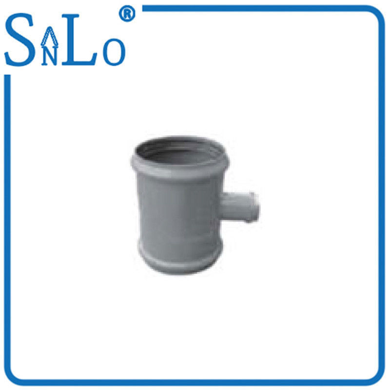 Gray Three Faucet Upvc Pipe Fittings Without Stock , Reducing Pvc