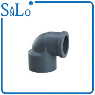 China Drainage And Sewer PVC U Pipe Fittings By Good Water Tightness Municipal Engineering factory