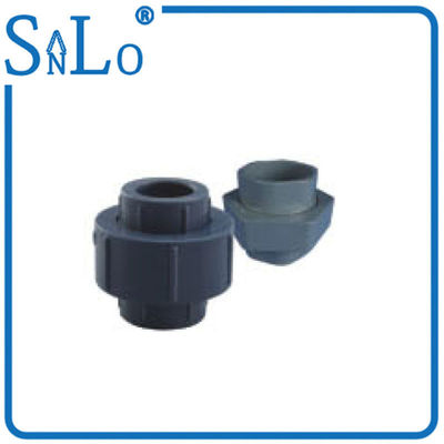 China Water Supply  NBR5648 PVC U Pipe Fittings , Pvc Pipe Union Fitting  Ⅲ 20 - 60 distributor