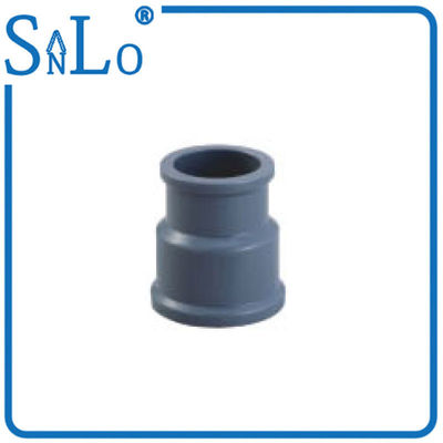 China Bacteriological Neutral Upvc Pipe Reducer Deep Gray Or Other Color Light Weight factory