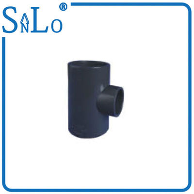 China Reducing  Upvc Pressure Pipe Fittings , Petrochemical Gas Pvc Pipe Tee Fittings factory