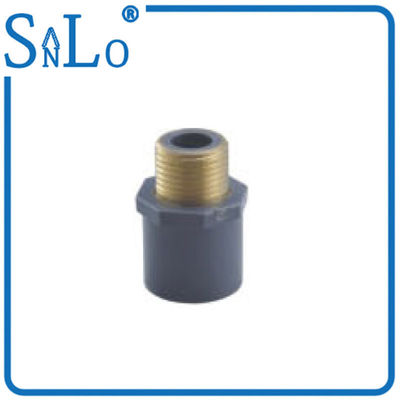 China Black High Temperature Schedule 80 CPVC Pipe Fittings With Brass Easy To Load And Unload distributor