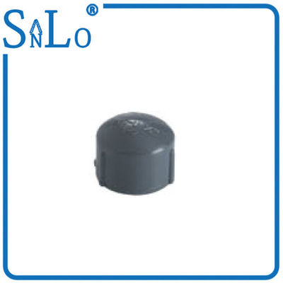 China Plumbing Supply Black Female Plastic Pipe End Caps For Agricultural And Garden Projects distributor