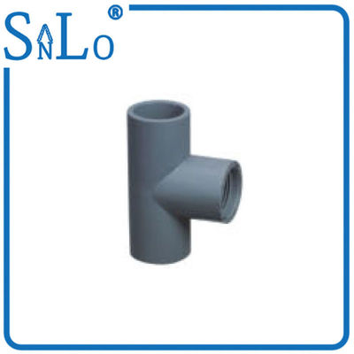 China Residential Sch 40 PVC Pipe Fittings , Two Inch Pvc Sewer Pipe Fittings Custom factory