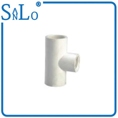 China Compressed Air Sch 40 Pvc Pipe Fittings , Female Tee Pvc Pipe Reducer Fittings factory