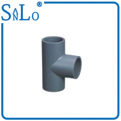 "China Stralght Sch 40 Pvc Pipe Fittings , 1/2 "" To 6 "" Easy Moving Pvc Sch 40 Tee distributor"