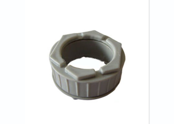 China 25 ~ 50mm PVC U Joint Pipe Fittings , UPVC Male To Female Electrical Conduit Bushing factory