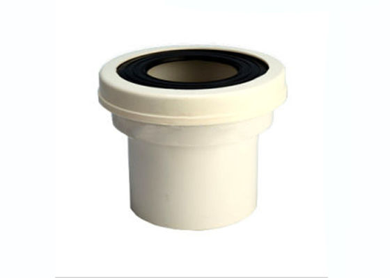 China White or other color UPVC W. C Pan Connector (morf) DIN Size: 110mm factory