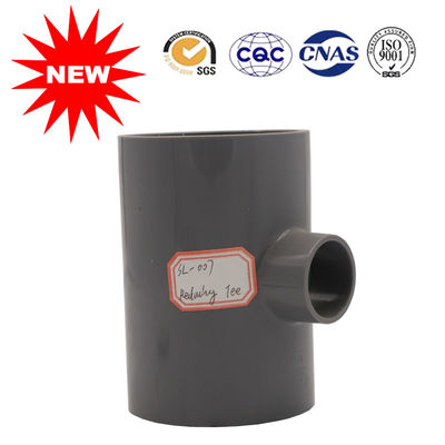 China Durable Pvc Tee Fitting For Chemical Field Pipe , Long Life Using Time factory