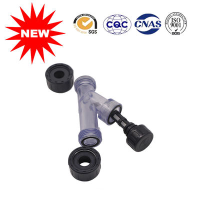 China PVC Plastic Pipe Fittings Clean Y Strainers For Water , Stability Relatively High distributor