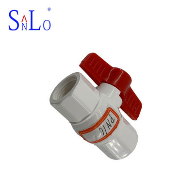 China PN16 Compact Ball Valve Pvc U Joint Pipe Fittings For 7-20 Days Delivery distributor