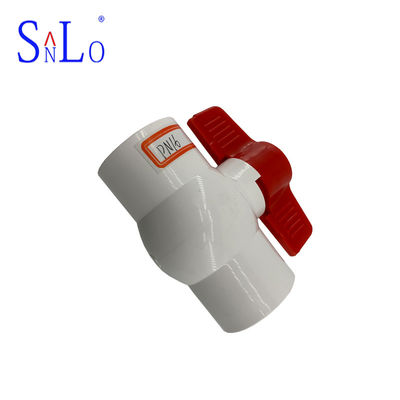 China Water System PVC U Joint Pipe Fittings , Pvc Compact Ball Valve Long Life distributor