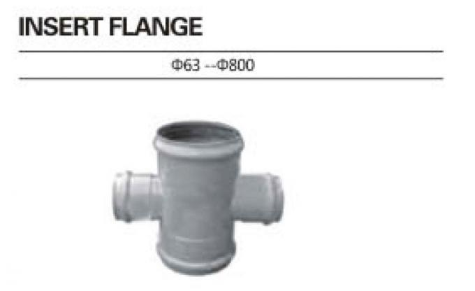 Lightweight Insert Pvc Cross Tee Pipe Fitting Good Chemicals And Drugs Resistance