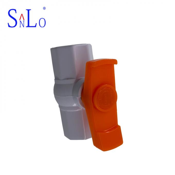 Small Size Water Supply Fittings Pvc Ball Valve Use In Petroleum Refining